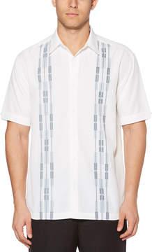 Cubavera Big & Tall Ombre Dobby Panel Shirt