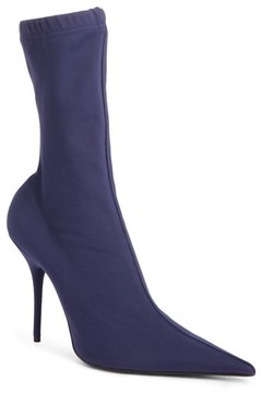Balenciaga Women's Pointy Toe Mid Boot