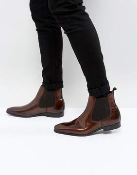 Zign Shoes Smart Leather Chelsea Boots