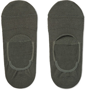 Nonnative Dweller Cotton-Blend No-Show Socks