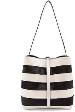 Proenza Schouler Frame striped shoulder-bag