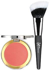 It Cosmetics CC Creme Blush with Angled Radiance Brush