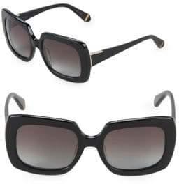 Zac Posen Mounia 55MM Square Sunglasses