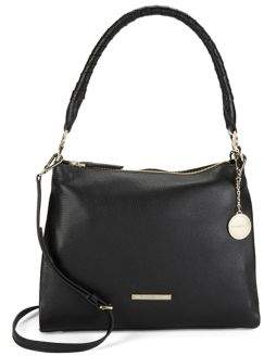 Donna Karan Leather Hobo Bag