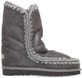 Mou 20mm Eskimo 24 Metallic Shearling Boots