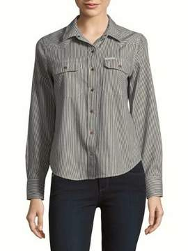 Calvin Klein Jeans Stripe Button-Down Shirt