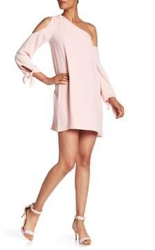 Amanda Uprichard Asymmetrical Long Sleeve Dress