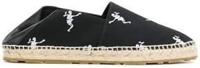 Alexander McQueen dancing skeleton espadrilles