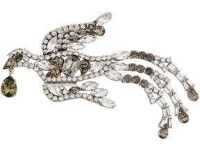 Alberta Ferretti fenix brooch