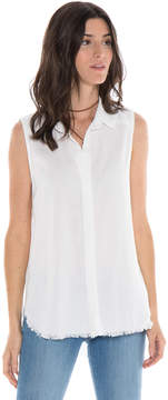 Bella Dahl Crossback Yoke Tank-White-XS