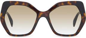Prada SPR16R irregular havana sunglasses