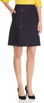 BOSS Valareama A-Line Button Skirt