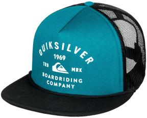 Quiksilver Moroccan Blue Spellbinder Trucker Hat