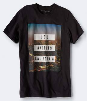 Aeropostale Cali Photo Graphic Tee