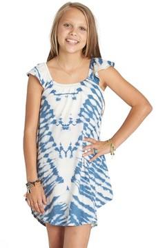 Billabong Girl's No Bad Vibes Tie Dye Dress