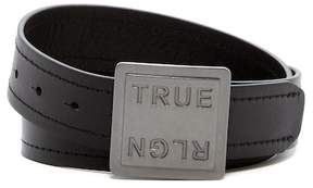 True Religion 38mm Stitched Bridle Leather Belt