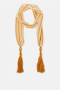 Sonia Rykiel | Slim Striped Silk And Cotton Scarf
