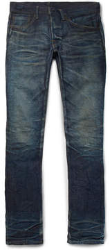 Co Fabric-Brand & Doran Slim-Fit Selvedge Denim Jeans