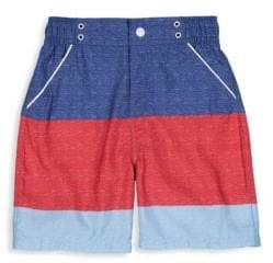 Andy & Evan Baby's Striped Swimsuit Shorts