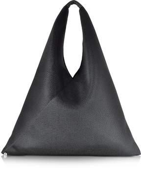 Maison Margiela Black Net Fabric Oversize Japanese Tote Bag