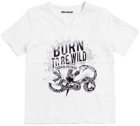 Zadig & Voltaire Born To Be Wild Cotton Jersey T-Shirt