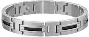 Lynx Stainless Steel Cable Bracelet - Men