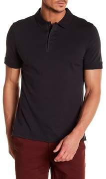 AG Jeans Contrast Trim Short Sleeve Polo