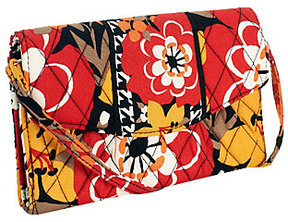 Vera Bradley As Is Signature Print Strap Wallet - ONE COLOR - STYLE