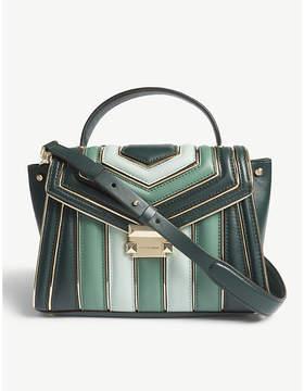 MICHAEL Michael Kors Whitney leather medium satchel