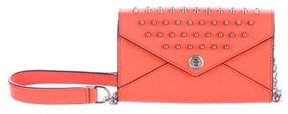 Rebecca Minkoff Mini Studded Crossbody Bag - ORANGE - STYLE