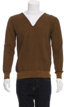 Balenciaga Matelassé Crew Neck Sweater w/ Tags