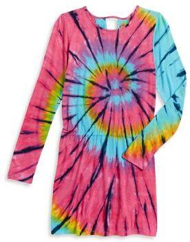Flowers by Zoe Girl's Tie-Dye Dress