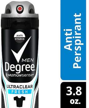 Degree Men UltraClear Antiperspirant Deodorant Dry Spray Black & White Fresh