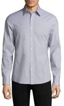 Michael Kors Danton Printed Button-Down Shirt