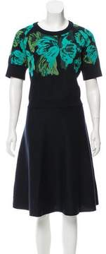 Lanvin Knee-Length Knit Dress