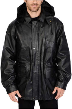 JCPenney Excelled Leather Excelled Nappa Leather Parka - Big & Tall