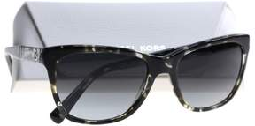 Michael Kors RANIA II MK2022 Sunglasses 317011-54 - Snow Leopard Tortoise Frame, Light Grey