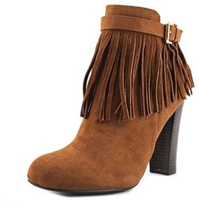 Material Girl Persia Round Toe Synthetic Ankle Boot.