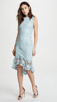 Cynthia Rowley Skydive Lace Midi Dress