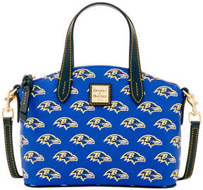 Dooney & Bourke Baltimore Ravens Ruby Mini Satchel Crossbody - BLACK - STYLE
