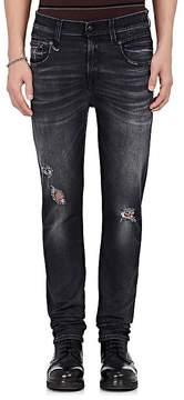 R 13 Men's Boy Distressed Slim Jeans