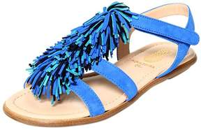 Aquazzura Wild Mini Suede Sandals