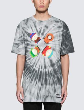 HUF South Park x Trippy Tie Dye S/S T-Shirt