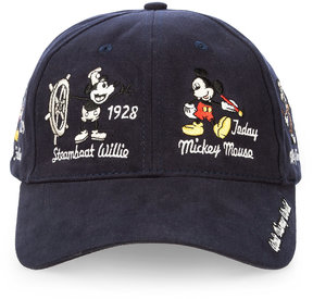 Disney Mickey Mouse Through the Years Baseball Cap for Adults