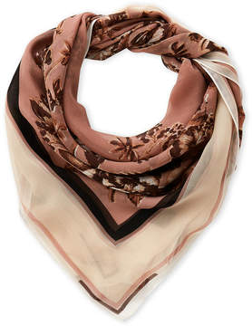 Vince Camuto Romantic Floral Silk Scarf