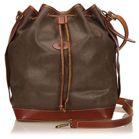 Mulberry Pre-owned: Textured Leather Shoulder Bag.