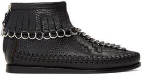 Alexander Wang Black Montana Moccasin High-Top Sneakers