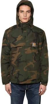 Carhartt Nimbus Hooded Camo Pullover Jacket
