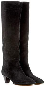 Isabel Marant Robby suede knee-high boots