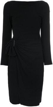 Armani Collezioni ruffled skirt dress